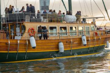 Sailing on La Gineta