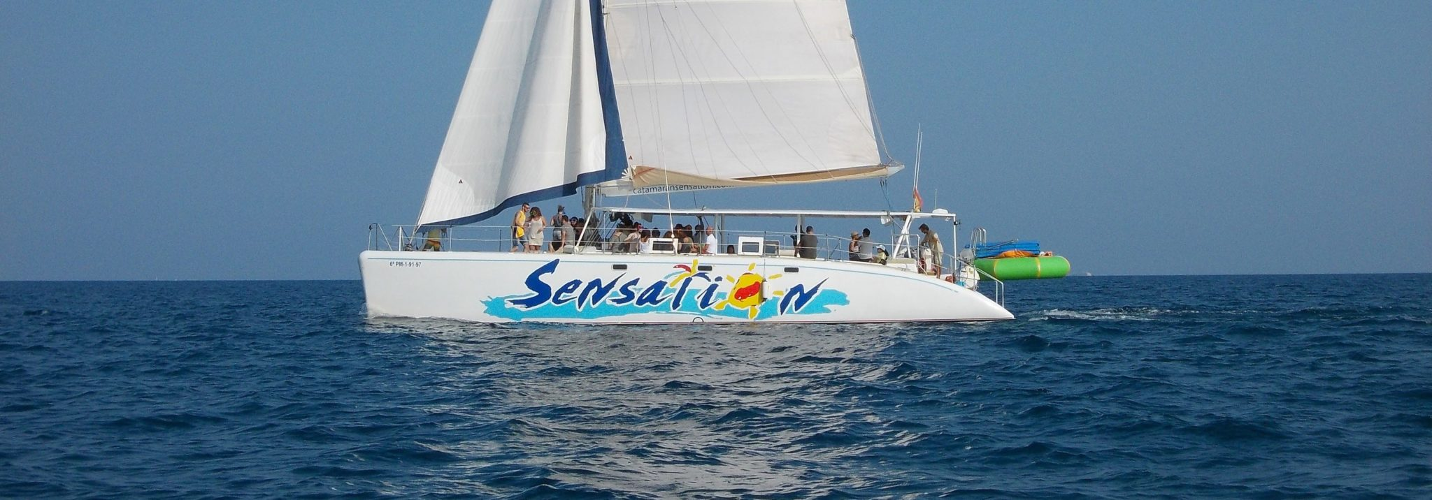 Book the sensation party boat in Barcelona