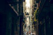 Streets of Barcelona Gothic Quarter
