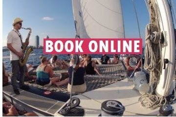 book online a shared catamaran jazz cruise