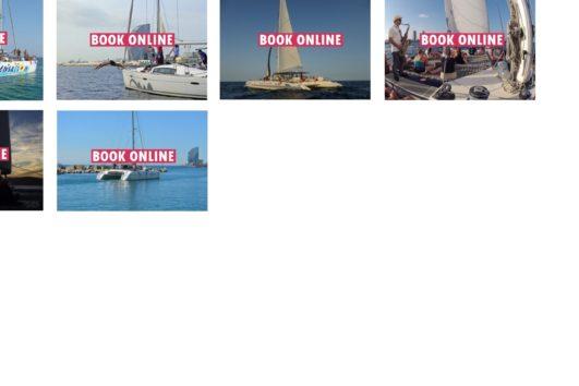 book a Private catamaran charter online