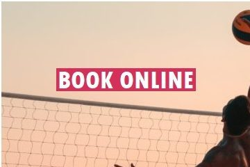 book beach volleyball online in Barcelona