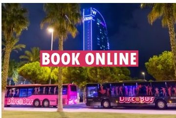 book a party bus in Barcelona online