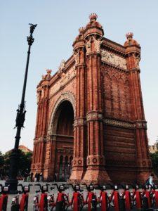 Arc de Triumf, Barcelona