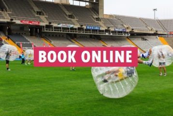 Bubble football in Barcelona - Book online