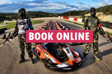 Book Paintball and Karting online for your Stag group