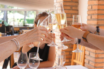 Drink Cava in a winery in Barcelona