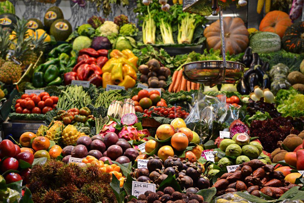 visit la boqueria market in Barcelona