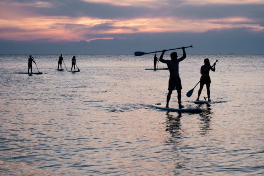 stand up paddle surf in Barcelona
