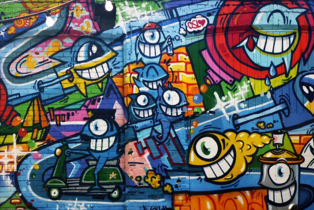 graffiti artists in Barcelona