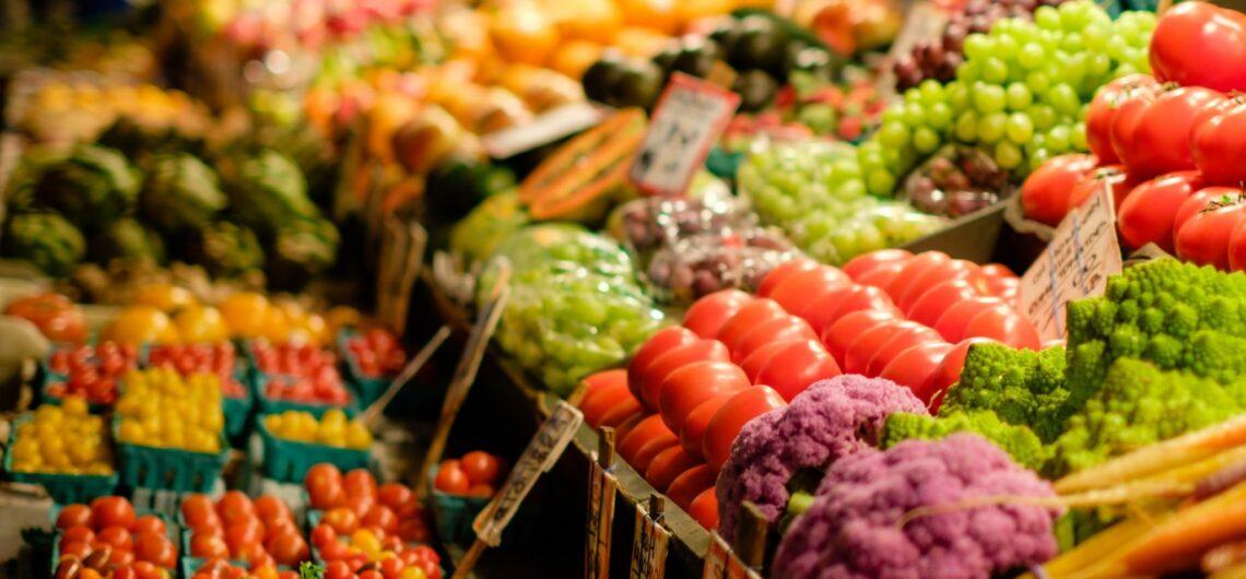 market fresh produce in barcelona