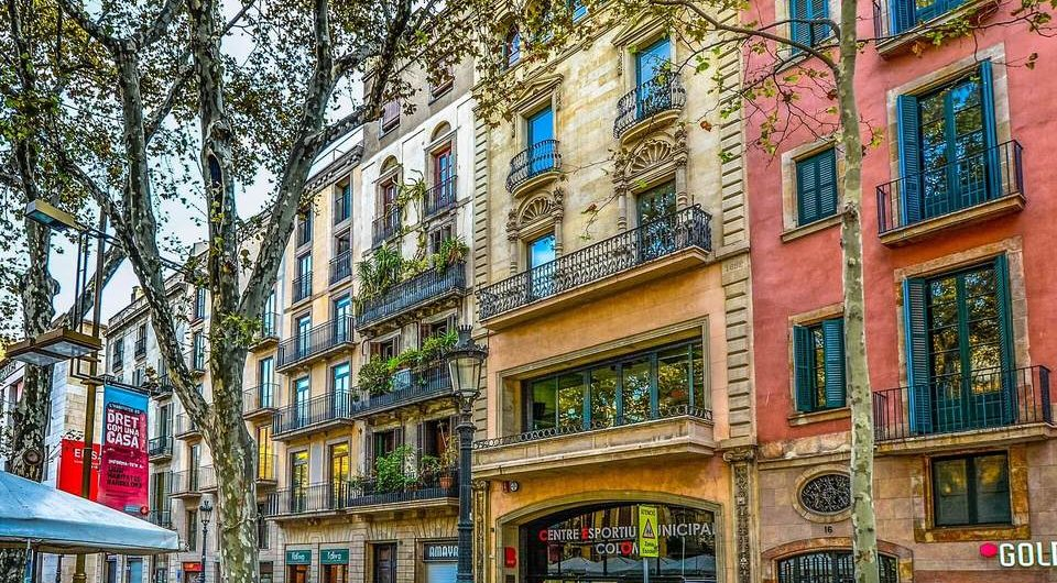 Great place to stay in Barcelona for groups
