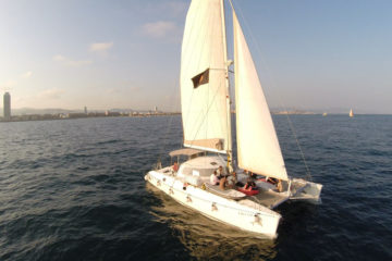 Catamaran Boat Trip in Barcelona