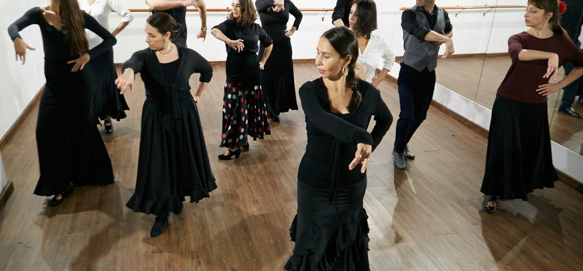Private Flamenco Class in Barcelona