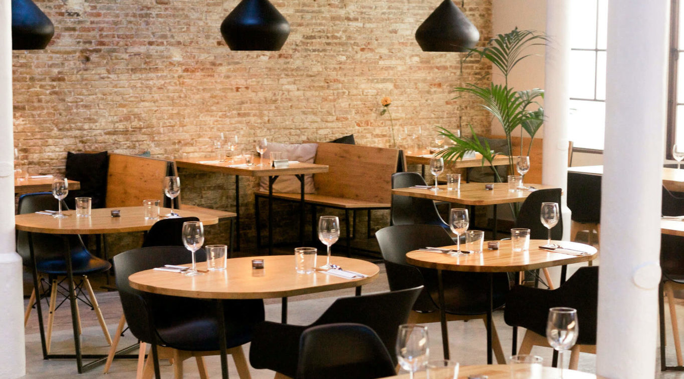 Stylish plant-based restaurant Barcelona