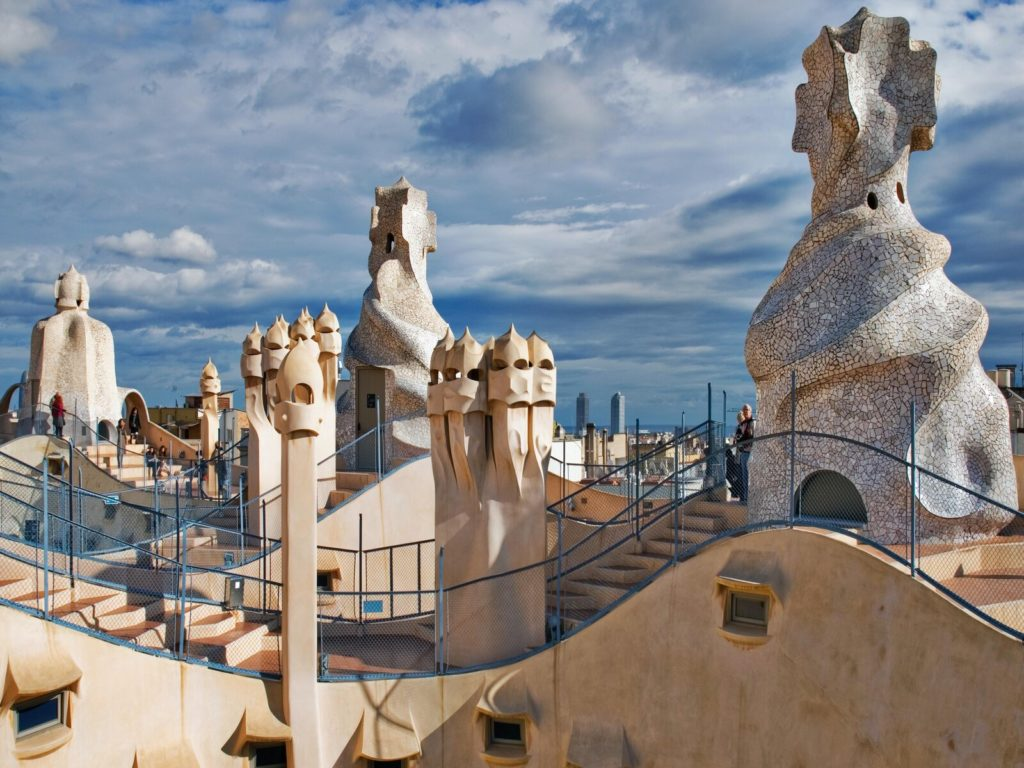Casa Mila Roof View Barcelona